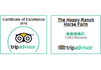 The Happy Ranch Trip Advisor Award 2018
